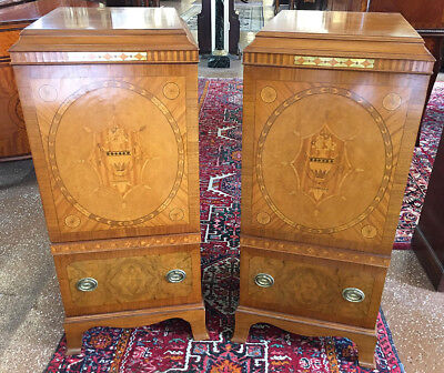 Best Inlaid Satinwood Fitted Drawer Edwardian Lingerie Chests Dressers Stands