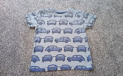 Cute NEXT Boys Short Sleeved Car TOP Age 18-24 months