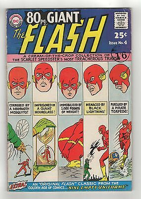 DC - 80pg Giant - The Flash - No 4 -  FN-  1964 - SCARCE UK!!