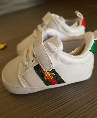 Designer inspired baby shoes trainers girls boys 0,3,6,9,12,18 months