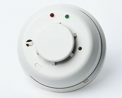 10  Pack of Honeywell 5808W3 Wireless Smoke & Heat Detector w/ Built-in Sounder.