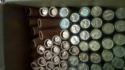 Uncirculated 1960-D Sd Penny Roll, Unlimited $6.45 Combined Us Shipping
