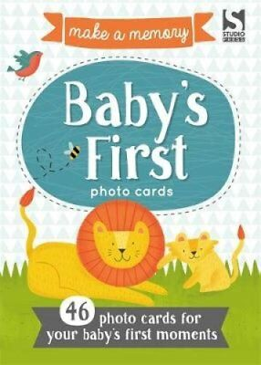 Make a Memory Baby's First Photo Cards Make a moment into a mem... 9781783706020