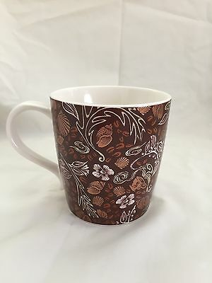 2009 Starbucks copper Mermaid Coffee Cup Mug New Bone China 12oz.