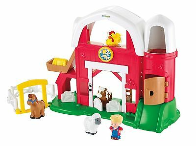 Fisher-Price Little People Fun Sounds Farm Barn Animals ~New Damaged Box~