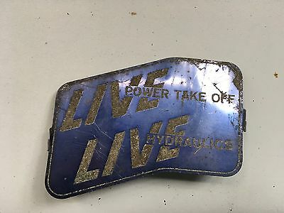 Fordson Tractor Live Drive Badge Original