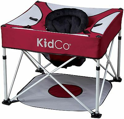 KidCo GoPod Plus Activity Seat, Cranberry Retail Box Is Blemished/ Imperfect