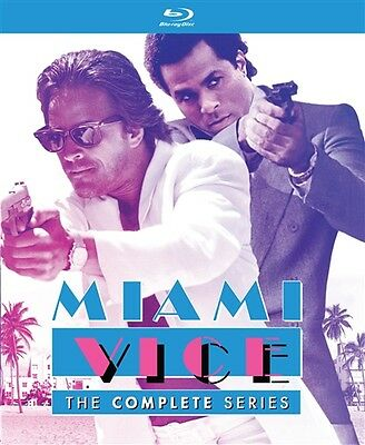 MIAMI VICE THE COMPLETE SERIES New Sealed Blu-ray Seasons 1 2 3 4 5