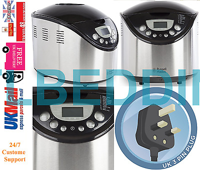 Russell Hobbs 22710 Bread Maker with 10 programmes Stainless Steel