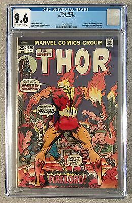 Thor #225 CGC 9.6 NM+ 1st Firelord; NICE! Free shipping / Returns accepted!!