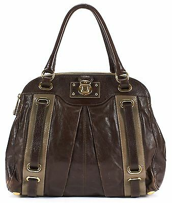 MARC JACOBS Authentic Brown Leather Shoulder Bag