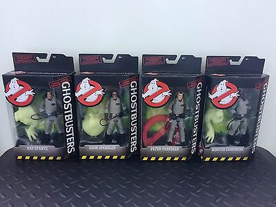 Ghostbusters Action Figure Set Mattel Peter Ray Egon Winston Brand NEW Sealed
