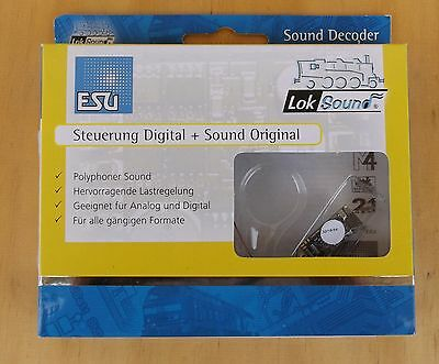 ESU 56899 LokSound micro V4.0 Premium Digital Sound Decoder 8-pin