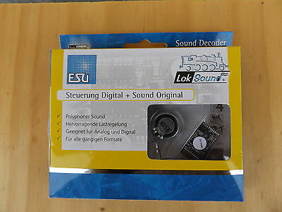 ESU 54499 LokSound V4.0 Premium Digital Sound Decoder 21-pin