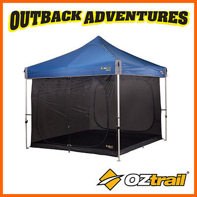 OZTRAIL SCREEN HOUSE INNER KIT 3.0M - gazebo not included - UPDATED 2018 MODEL