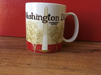 Starbucks Mug Washington DC Collector Global Icon Series Coffee Cup 16oz 2011