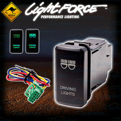 Lightforce Driving Lights Dash Switch Suit Toyota Hilux Pre 2015 Cbswtygd