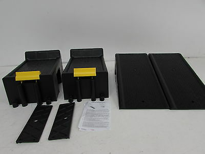Magnum-16000 Auto Ramp Set with Built-In Safety Chock HFJ14