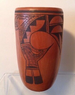 Vintage  Pottery Cup by Hopi Lucy Nahee (1902-1981)