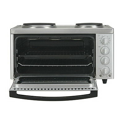 Euromaid Benchtop Cooker 60cm MC130T with oven, grill and ego hotplates