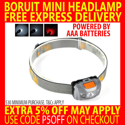Boruit 50000Lm Xm-Lt6 Q5 Cree Led Usb Waterproof Head Light Lamp Torch Headlamp