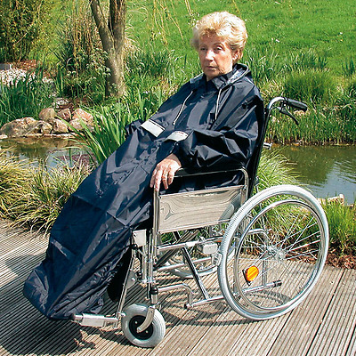 servoprax Rain Cape Ideal for Wheelchair
