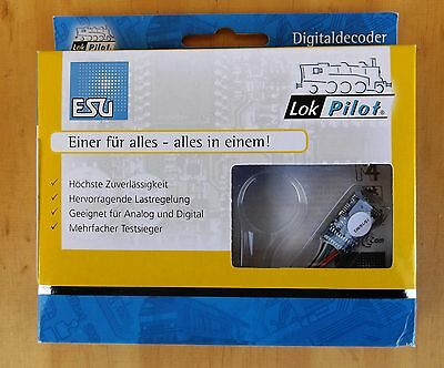 ESU 54614 LokPilot V4.0 Premium Digital Decoder 21-pin