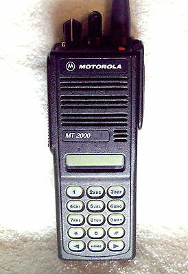 Motorola MT2000 806-869Mhz Portable Transceiver H01UCH6AA7AN 800 Mhz GE-Star MDC