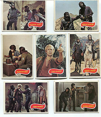 1975 Planet of the Apes.  Part set of 23 trading cards.  Very good condition.