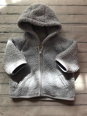 Baby Boys Clothes 0-3 Months - Cute Next  Hoodie Fluffy Jacket -