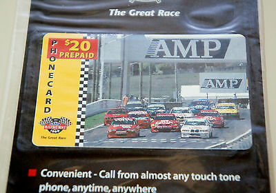 Bathurst 1000 - Official Event $20 Unused Prepaid Amp Phone Card  - Topcondition