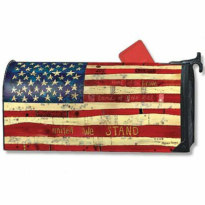 Home of the Brave Large MailWraps Magnetic Mailbox Cover #21299