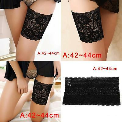 Women Summer Lace Elastic Socks Anti-Chafing Thigh Bands Prevent Sock Nice A