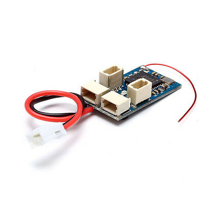 2.4G 4CH Micro Low Voltage Compatible Receiver With Brushed ESC For DSM2 DSMX