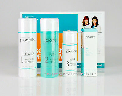 Proactiv 4 Step Acne Solution Skin Smoothing Exfoliator Facial Cleanser Refining