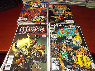 Lot of 50 DIFFERENT ALL Ghost Rider Comic Book Titles Spirits Vengeance 2099 +