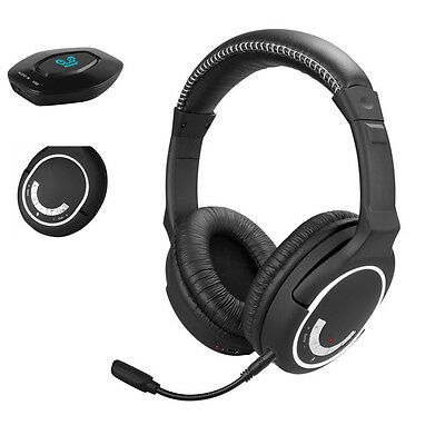 Wireless Surround Gaming Headset Headphone Stereo Chat Mic for Xbox One/360 PS4