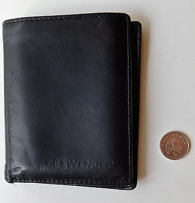 Black Wenger wallet small credit card holder