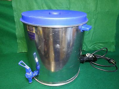 Fowlers Vacola Electric Stainless Steel Preserving Sterilizer.