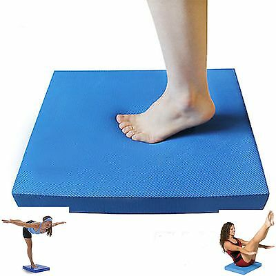 Balance Pad Mat Cushion Wobble Board Yoga Pilates Physio, Posture Stability Gym