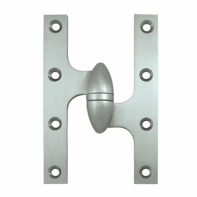 "Deltana 6"" H x 4"" W Butt/Ball Bearing Single Door Hinge"
