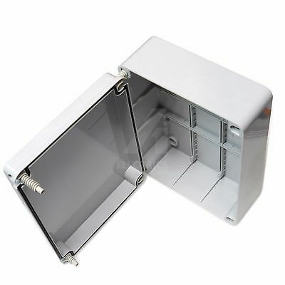 Junction box terminal connection enclosure adaptable waterproof 240 x 190 x 90mm