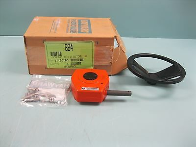 "Mastergear Hayward GB4 Gear Box for 4"" Butterfly Valve NEW B17 (2241)"
