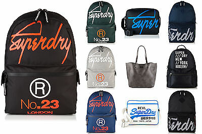 New Superdry Bags Selection - Various Styles & Colours 2208