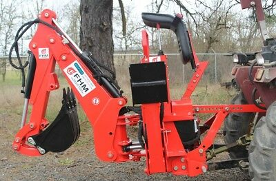 6' Dig Self Contained Tractor Backhoe 3 point FH-BH6