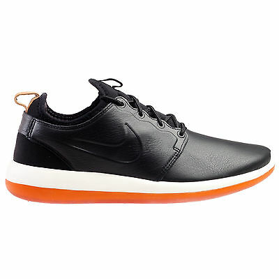 quality design a6f3a c1b10 Nike Roshe Two Leather Premium Mens Size 7 Shoes Black White Gum 881987-001  NEW