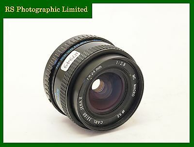 Carl Zeiss Jena II 24mm F2.8 Lens with Pentax PK-A Mount. Stock No U7949