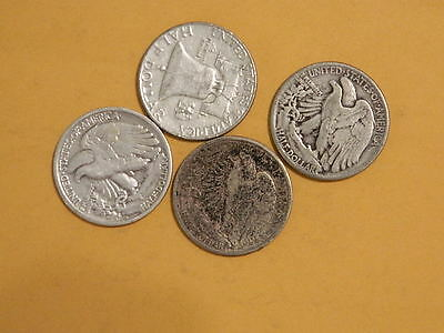 $2 Face Value - 90% Silver U.S. Coin Lot - Half Dollars