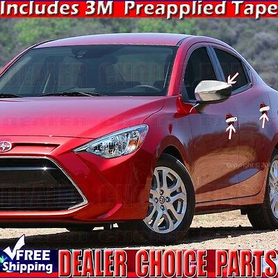 Auto Ventshade 194508 Ventvisor In-Channel Deflector 4 pc Fits 16-18 iA Yaris