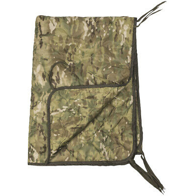 Mil-Tec Poncho Liner Tactical Army Combat Cover Festival Camping Gear Multitarn